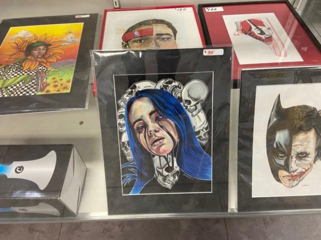 Local Artists work